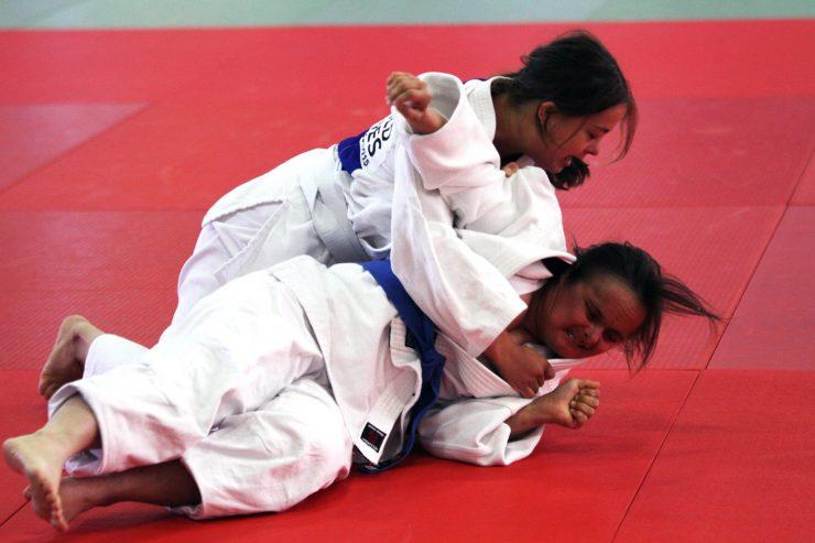 Solid innsats av nesoddingene i judo