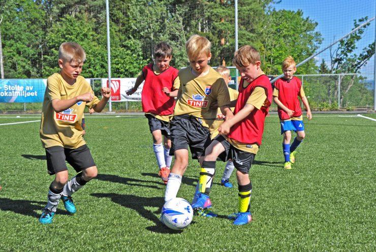 Tine fotballskole – populært tiltak