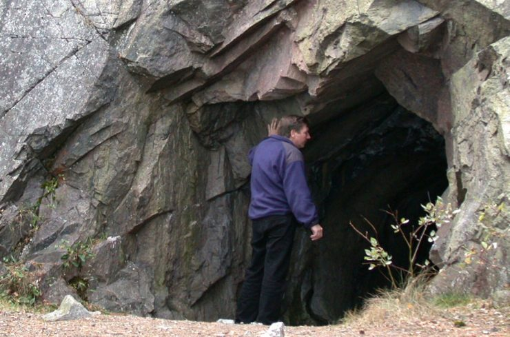Huleboer for en dag i Spro-gruven