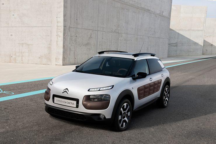 Citroën med framtidsrettet design