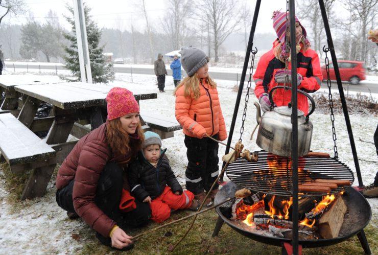 Nostalgisk familiedag på Eklund