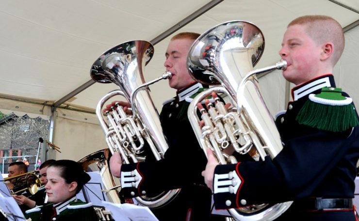 Musikkfest med Gardemusikken