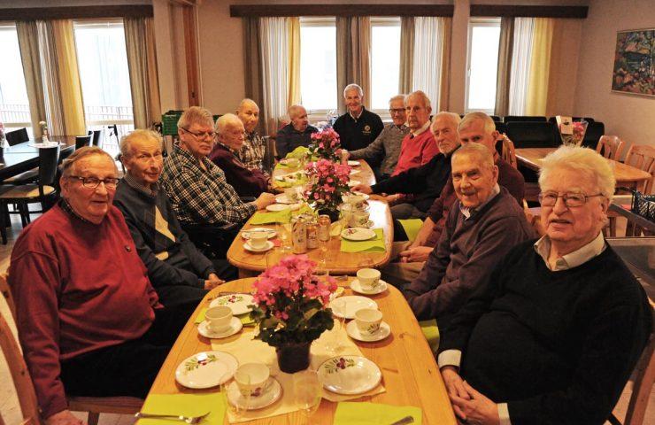 Seniorgjengens årlige julemøte