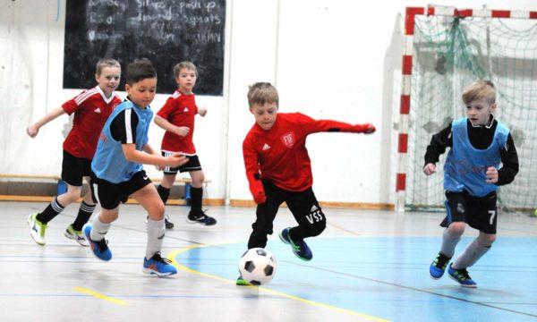 Fotballglede i Energihuset cup