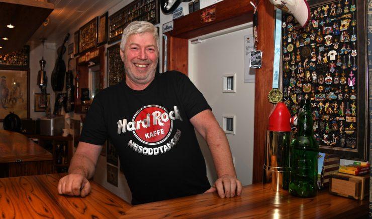 Hard Rock Cafe entusiasten Johnny