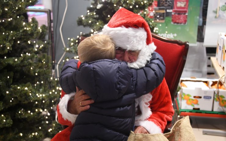 Flott juleåpning på Tangen lørdag