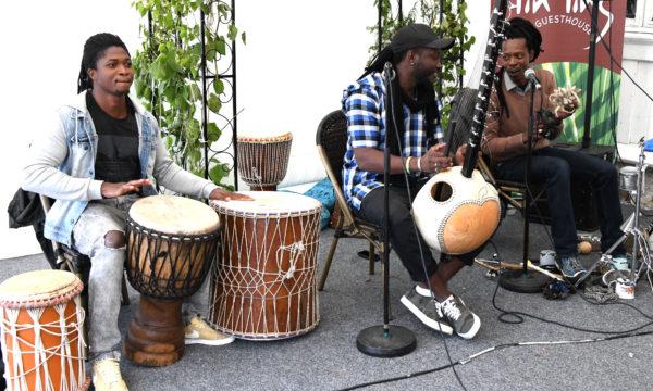 Senegalesisk på Hellviktangen