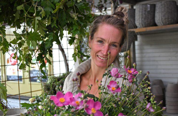 Blomstrende på Fjellstrand
