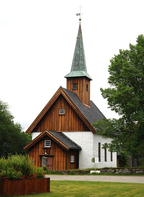 Middelalderkirken på Nesodden