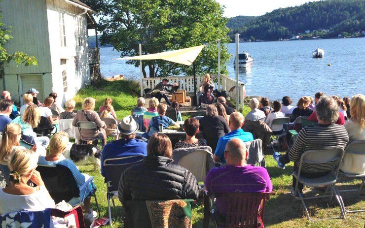God stemning og flott musikk på Brevik