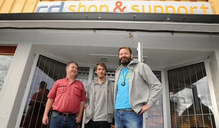 RD Shop & Support klar for åpning
