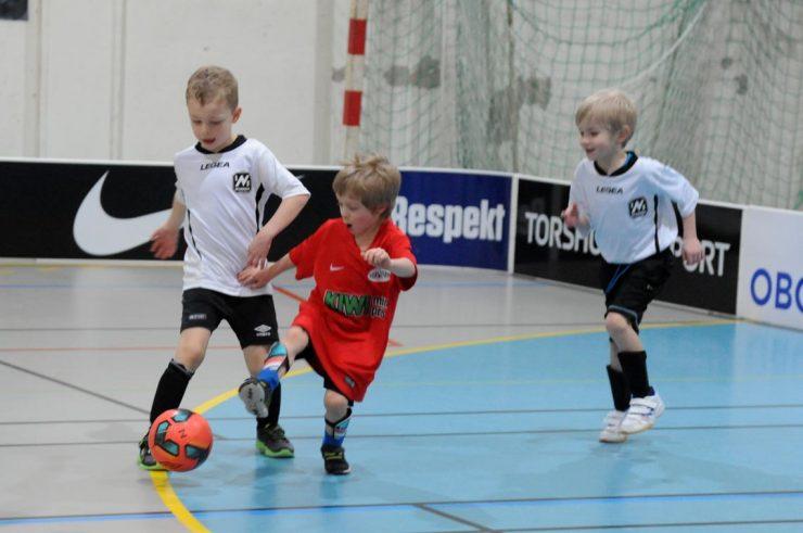 Fotballcup for smårollingene