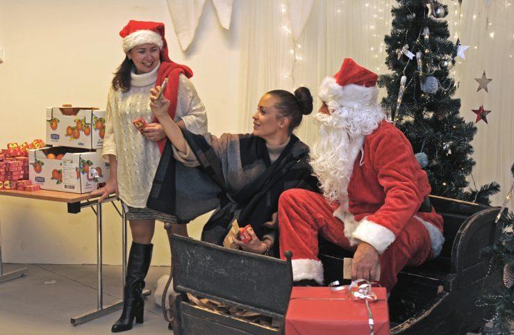 Stemningsfull juleåpning på Tangen