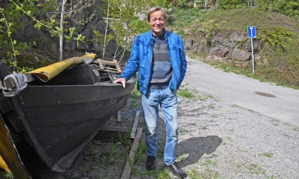 Sigmund Siger gir bort genuin båt