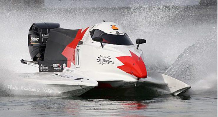 Kjører VM-runde i Formel 2