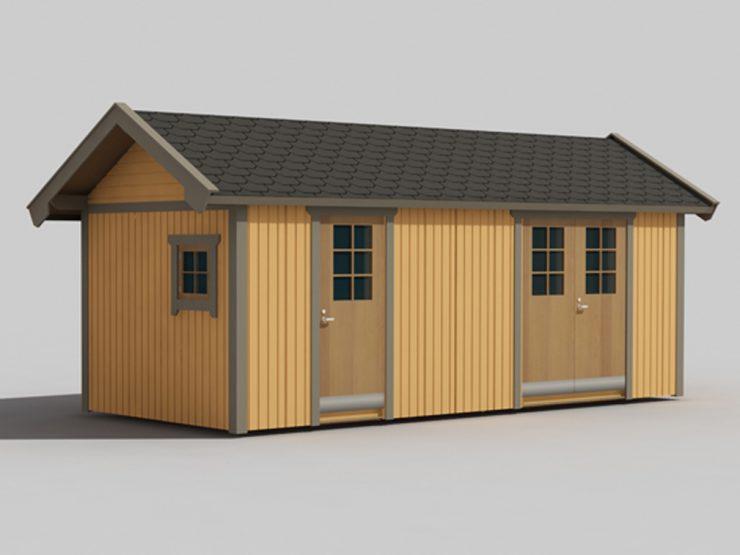 En liten hytte til glede og nytte